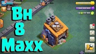 Clash of Clan -  builder level 8 max base - private server 100% work| super super trailers