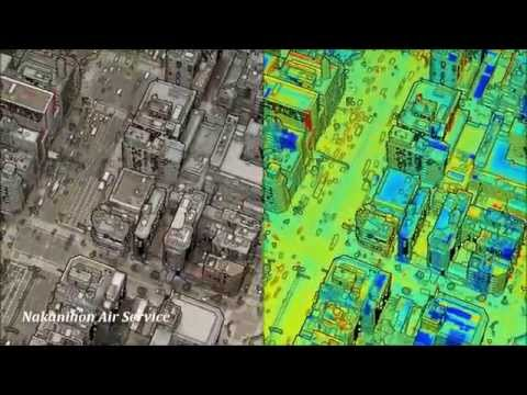 High Resolution and Accurate Thermal Mapping Image with Lidar Data