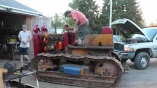 Repeat youtube video 1941 International Td14 Dozer First Start