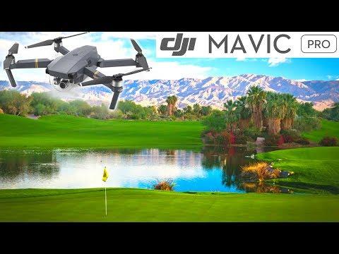 NEW 2017 DJI MAVIC FLIGHT PALM SPRINGS CALIFORNIA DESERT GOLF COURSE FLYOVER SUMMER TIME FUN!