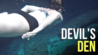 Snorkeling Devils Den - Airstream RV Living
