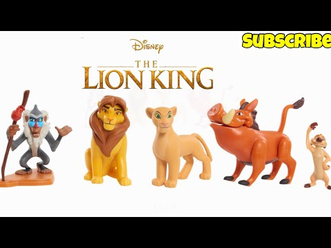 New Disney The Lion King Pride Rock Surprise Capsules Opening With Toys Inside!Toy Video