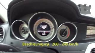 der holgi racechip chiptuning pro 2 mercedes benz c220 cdi w204 top speed 251 km h acceleration