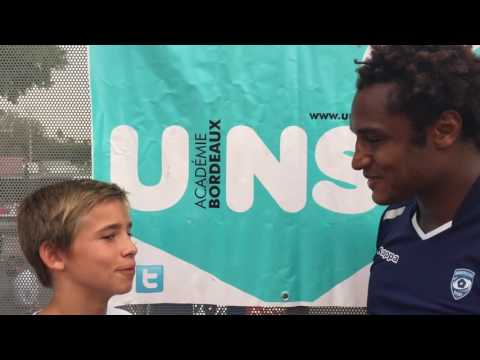 Benjamin Fall, ambassadeur du rugby à l'UNSS... l'interview par Félix