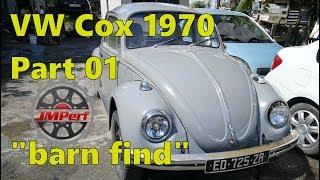 Restauration Cox 1970 - 1ere Partie