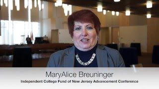 Independent College Fund of New Jersey Kick Off Testimonial