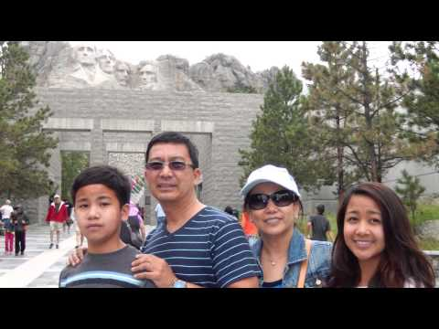 2014 Montilla Family Vacation Mount Rushmore and Yosemite Park