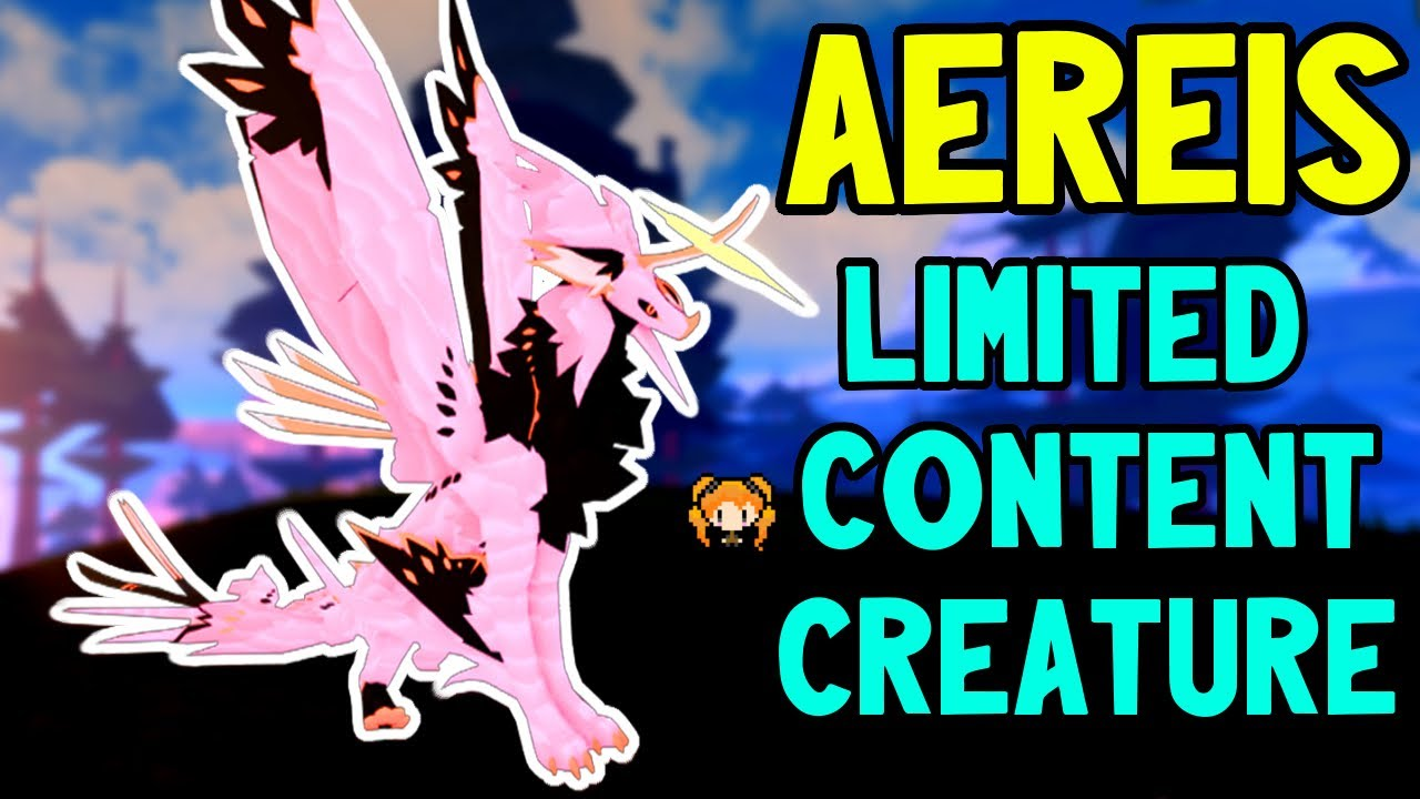 Download CONTENT CREATOR AEREIS!! & How YOU Can GET ONE! Roblox Creatures of Sonaria