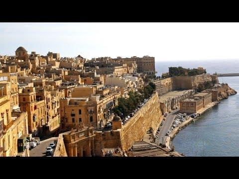 Malta, Valetta city tour / La Valeta ciudad / Turismo Malta Travel City Visit Tourism Gallivant