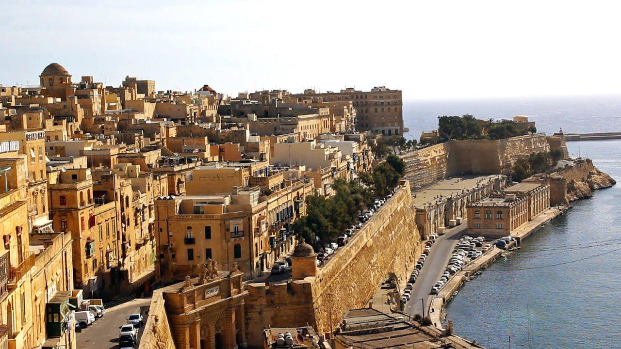 Malta, Valetta city tour / La Valeta ciudad / Turismo ...