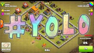 4K SUBSCRIBER SPECIAL! CLASH OF CLANS FAILTAGE #2! (CLASH OF CLANS)