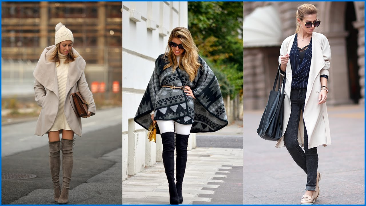 How To Wear Winter Fashion Combinations For A Real Fashionista Youtube
