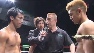 Bigbang24 WKA世界スーパーライト級王座決定戦 谷山俊樹 vs ナタンボルシオ