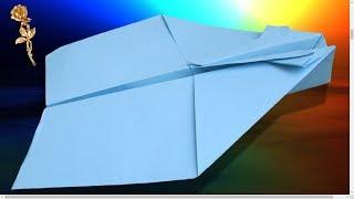 Origami facile : Avion qui vole très bien et très loin