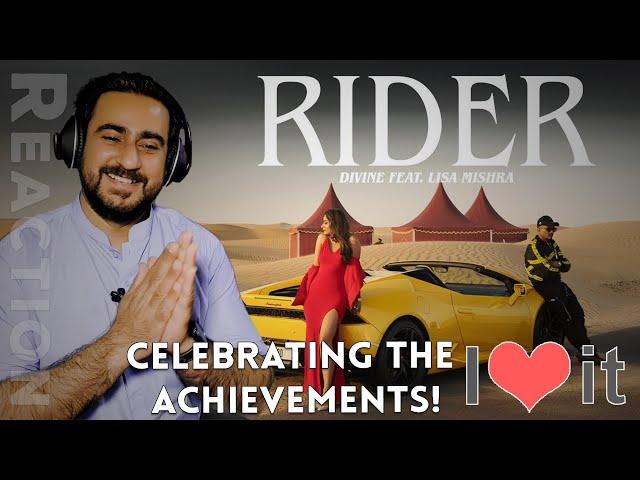 DIVINE feat. Lisa Mishra - Rider | Prod. by Kanch, Stunnah Beatz | Reaction | IAmFawad