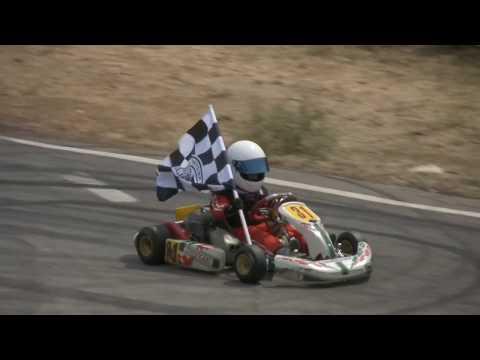 Konstantinos' 1st Karting Victory (9 Years Old)