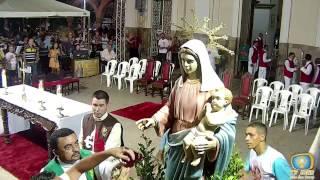 Basílica Santuário de Nossa Senhora das Dores - Missa de Abertura da Romaria das candeias 2017
