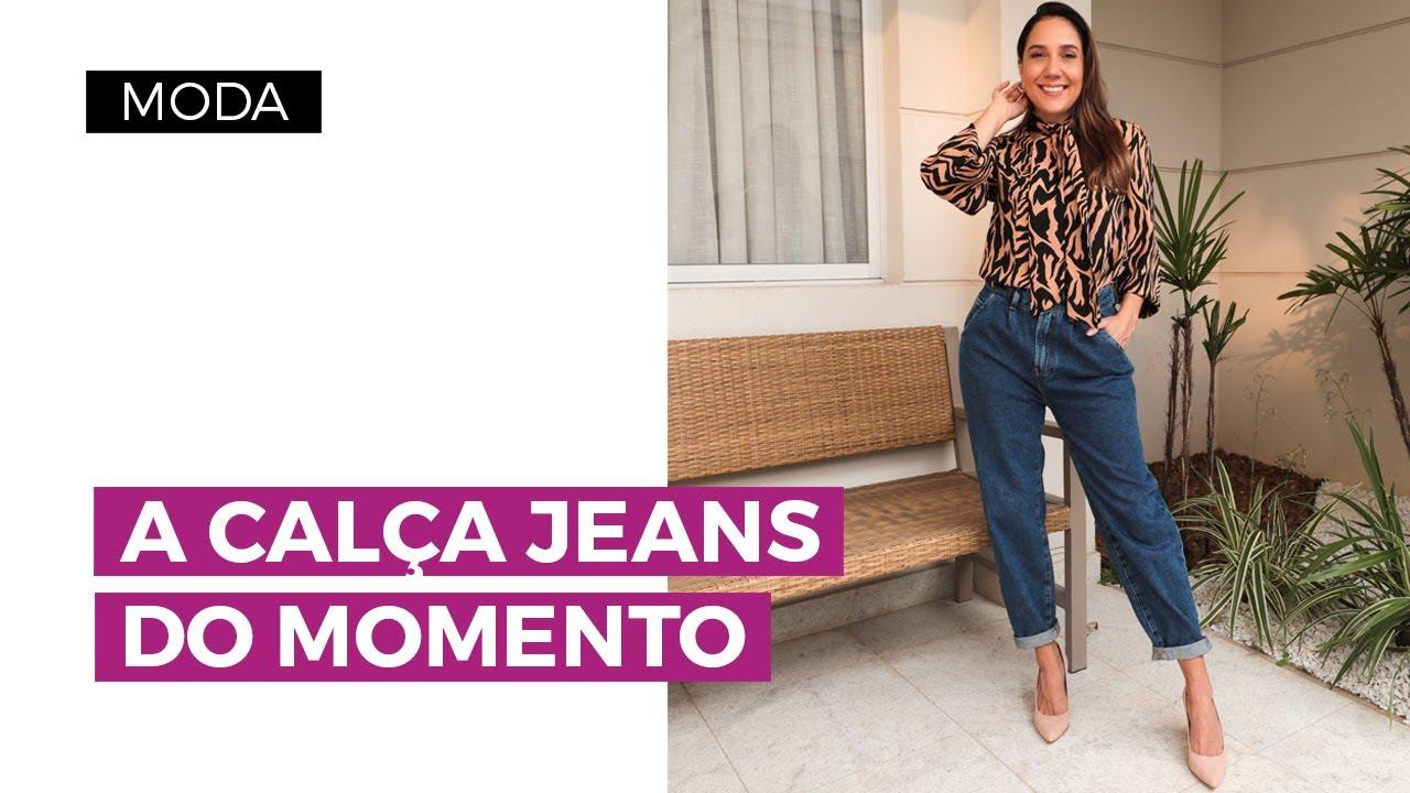 Calça slouchy: como usar o jeans da moda | Camila Gaio