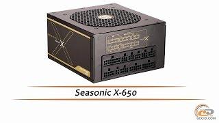 Seasonic X-650 - обзор высококачественного блока питания
