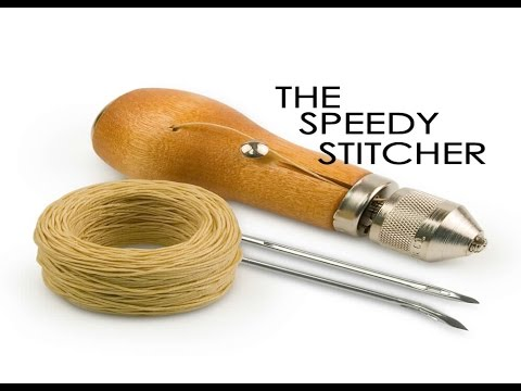 HOW TO USE THE SPEEDY STITCHER