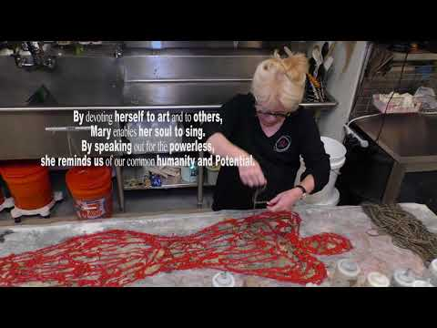 A Tour Of Mary Fisher's Studio