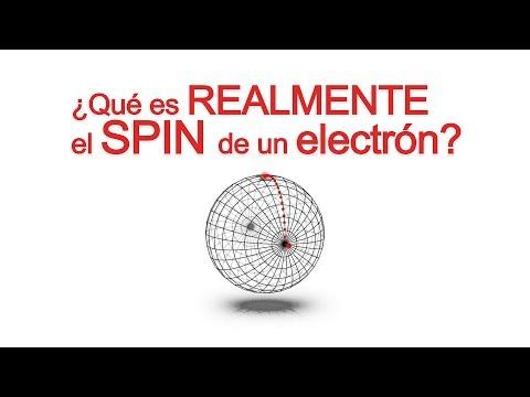 ¿Qué es REALMENTE el spin del electrón?