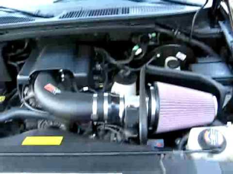 K N Cold Air Intake F 150