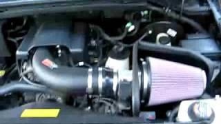 K&N Cold Air Intake  F-150