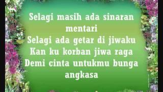 Video Bunga Angkasa - Terra Rossa (Lyric) download MP3, 3GP, MP4, WEBM, AVI, FLV Oktober 2017