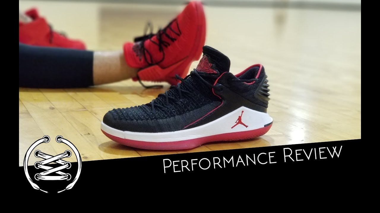 89d1b4e92e4fa Air Jordan 32 Performance Review - YouTube