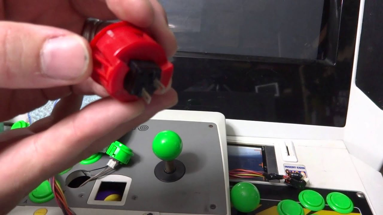 Fighting Stick And Arcade Control Panel Sticky Button Cleaning And  Maintenance (Sanwa Buttons)