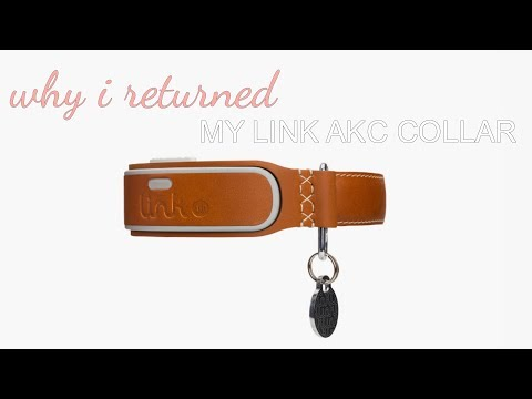 Why I Returned My Link  Link AKC Smart Dog Collar | Product Review