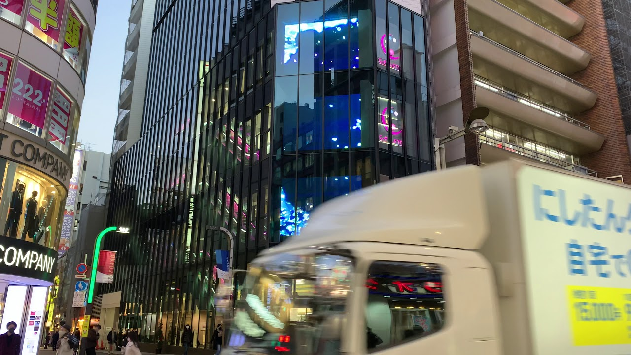 【LEDVISION 設置事例】ココカラファイン 新宿東口