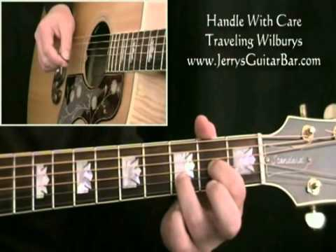 How To Play The Traveling Wilburys Handle With Care (intro only ...