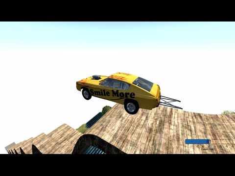 Download Youtube: Crashing the smile more car (Roman Atwood) - BeamNG Drive Live Stream