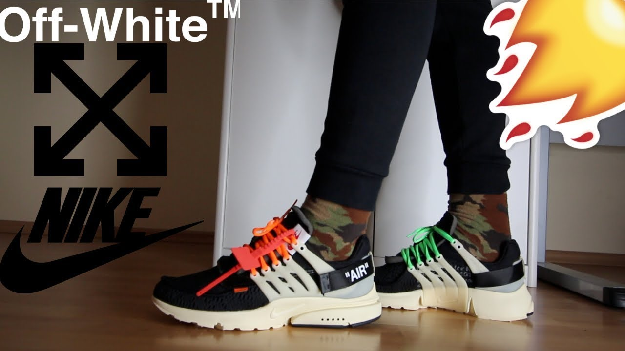 online retailer 228cc 20799 ... where can i buy nike x off white air presto with on foot review c o  virgil