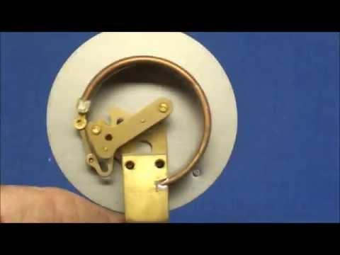WHAT MAKES IT WORK? #15 How a Pressure Gauge Works tubalcain bourdon tube