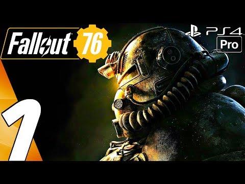 FALLOUT 76 - Gameplay Walkthrough Part 1 - Prologue (Full Game) PS4 PRO thumbnail
