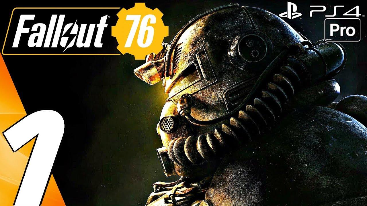 Fallout 76 Gameplay Walkthrough Part 1 Prologue Full