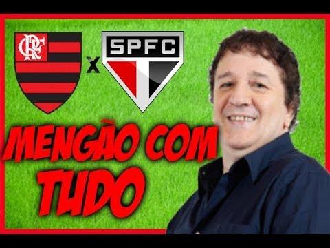 Gols De Flamengo 2 x 0 São Paulo (Luiz Penido) Rádio Globo - Brasileirão - 02/07/2017
