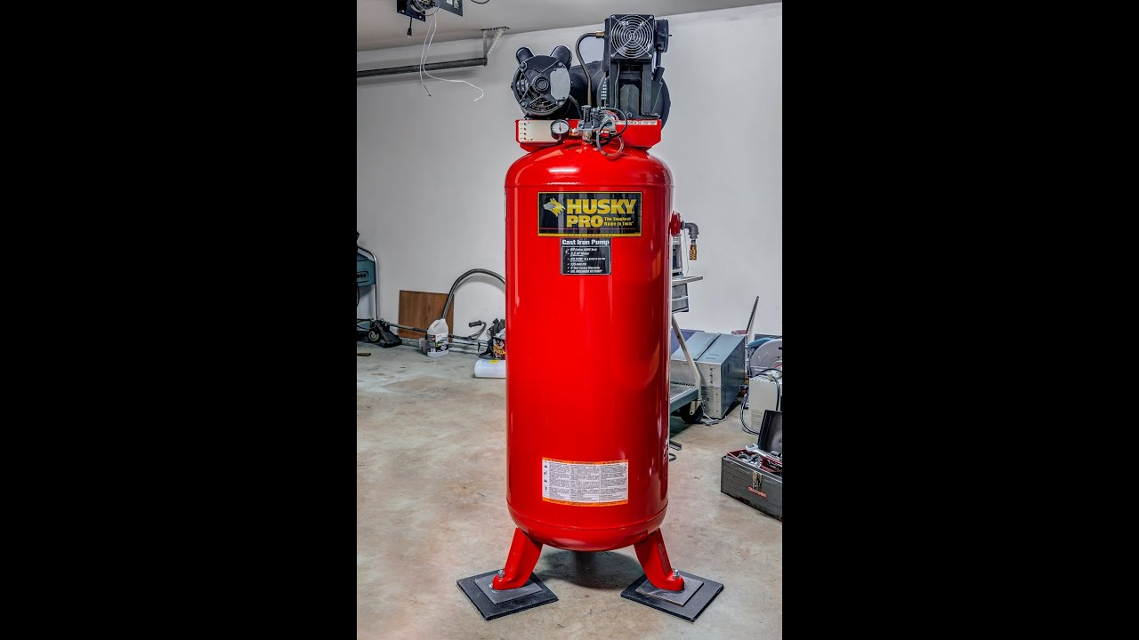 Husky Compressor Repair And Modification Youtube