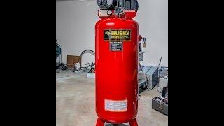 Husky Compressor Repair and Modification