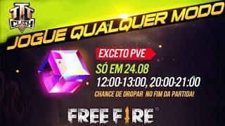 NOVO EVENTO! COMO GANHAR O CUBO MÁGICO DE GRAÇA NO FREE FIRE!