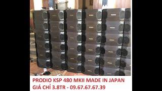 Prodio KSP-480 MKII bãi xịn Japan giá chỉ 3.8tr/đôi