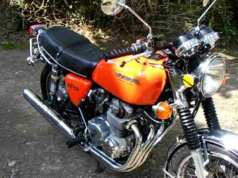 Honda CB550 Four 1976 - YouTube