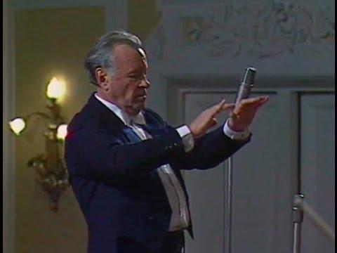 Evgeny Svetlanov conducts Rachmaninoff Aleko - video 1989
