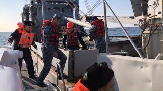 Они не угробленные! Кадры передачи кораблей Украине