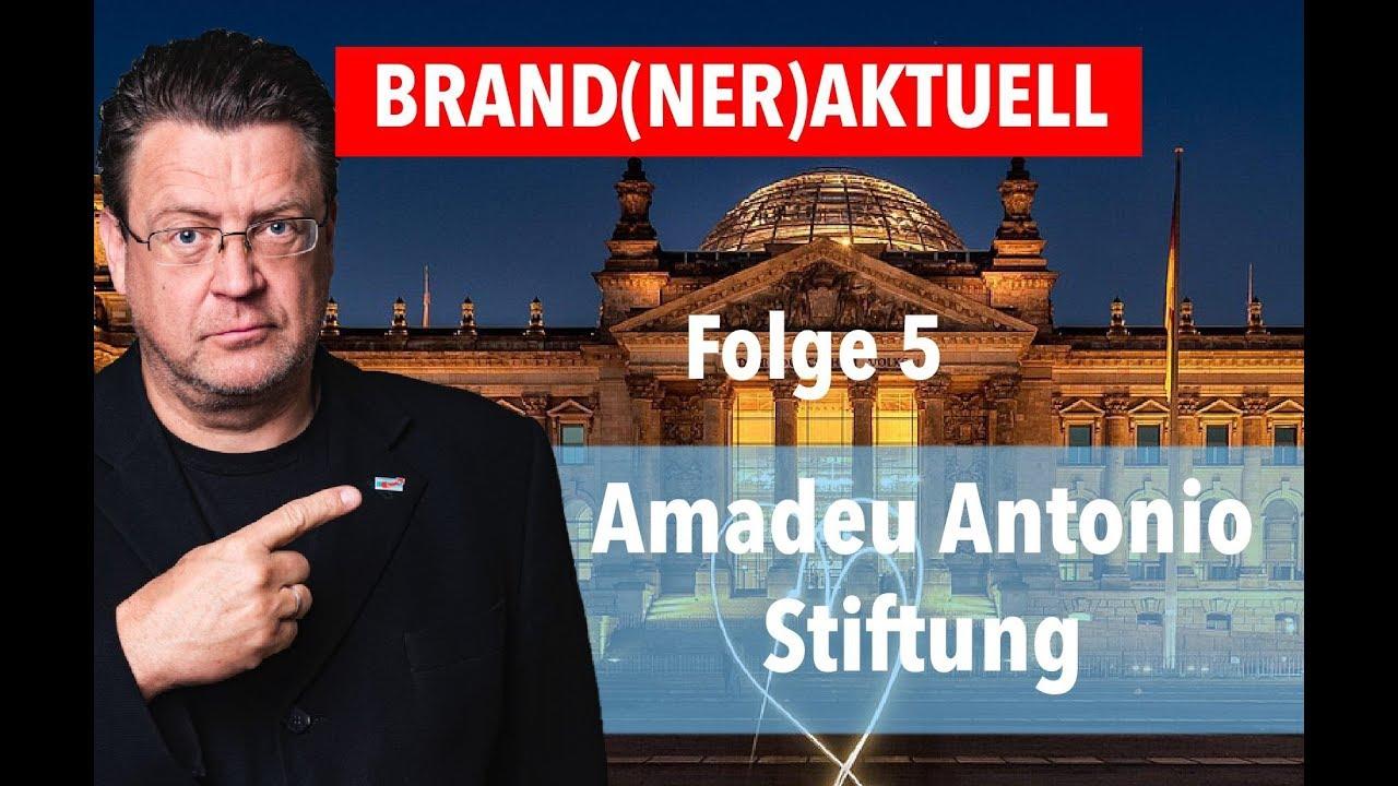 BRAND(NER)AKTUELL: AMADEU ANTONIO STIFTUNG