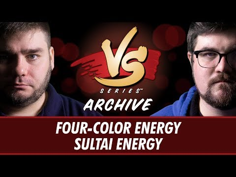 11/17/17 - Brad VS. Todd: Four-Color Energy vs Sultai Energy [Standard]