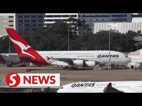 Australia's Qantas to cease international flights